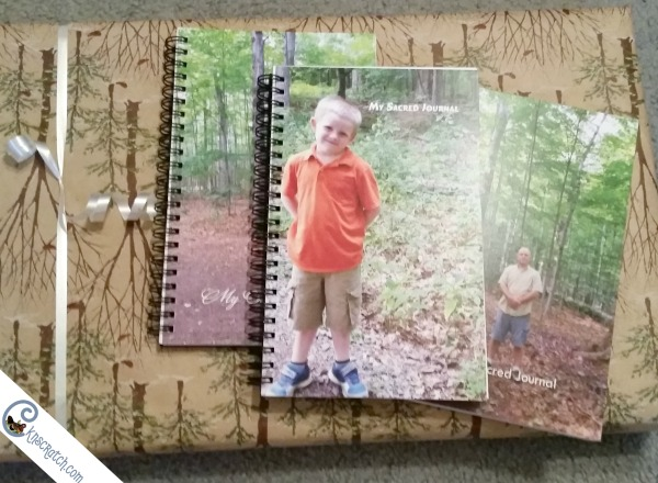 Love, love, love this idea! Make your children Sacred Journals for Christmas present. The photo on the front is such a great idea!