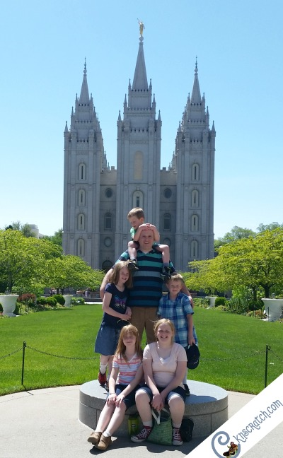Don't forget to take the classic Temple photo while on Temple Square