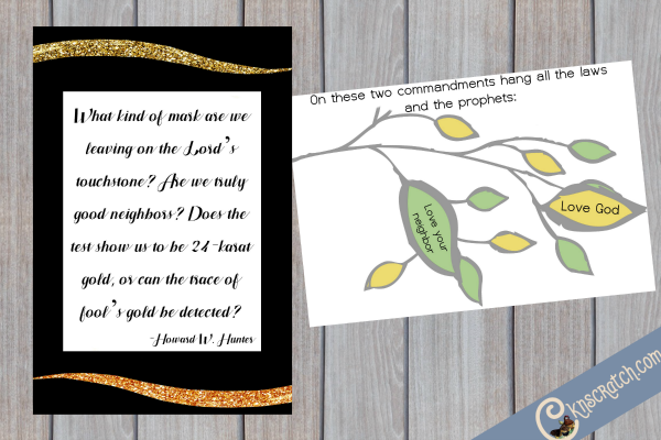 Great free handouts for teaching Howard W. Hunter Chapter 20: Walking the Savior's Path of Charity