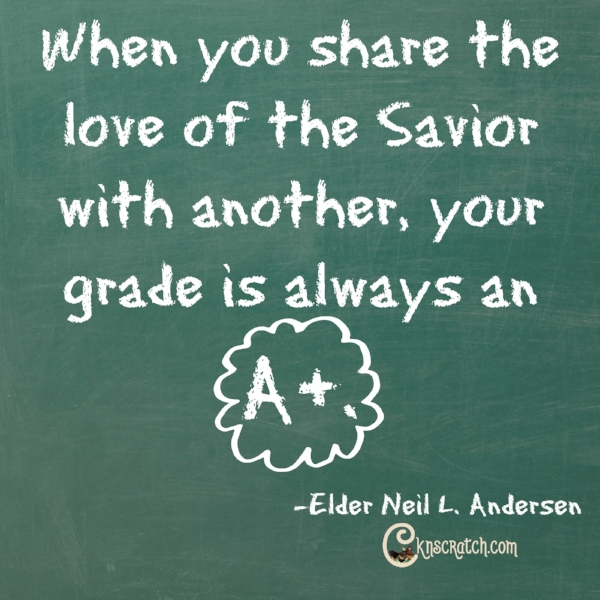 Yes- this is what we need to remember as we teach and share the gospel
