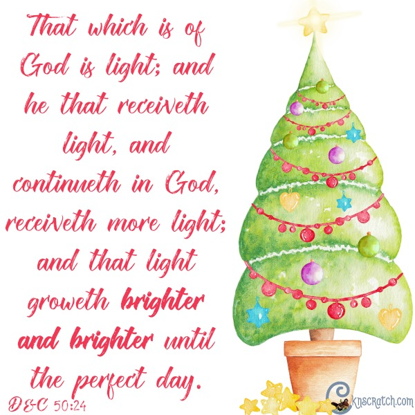 I love all these scriptures about light to share this Christmas season #LIGHTtheWORLD