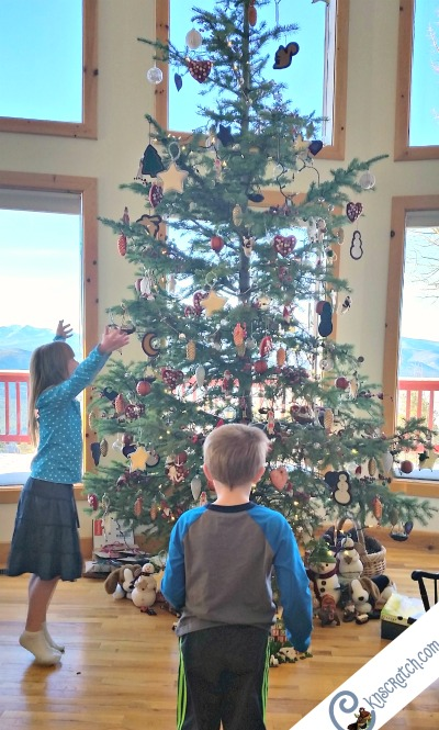 Help someone put up their Christmas tree #LIGHTtheWORLD