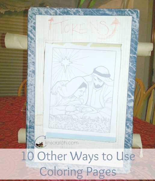10 Other Ways to use Coloring Pages while teaching