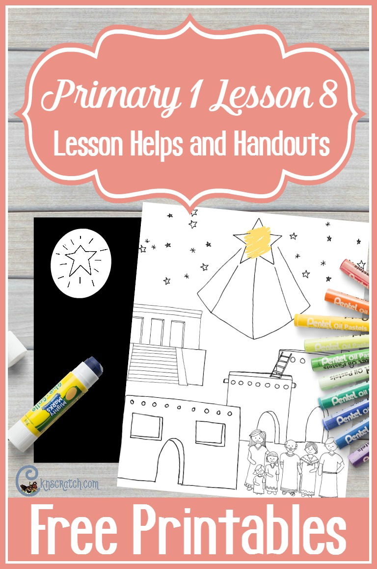 Teaching resources and free handouts for teaching Primary 1 Lesson 8: I Am Thankful for the Day and the Night