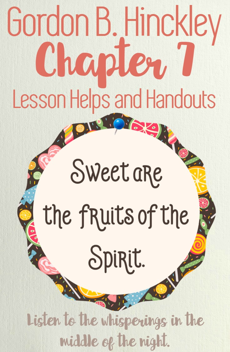 Great resource for preparing to teach Gordon B. Hinckley Chapter 7: The Whisperings of the Spirit