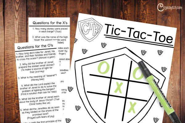 Love playing tic-tac-toe as lesson reviews!