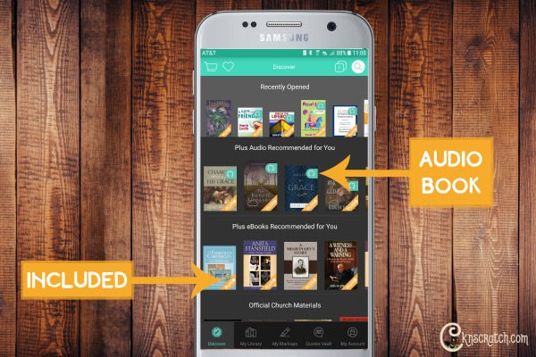 How to use the Deseret Book app