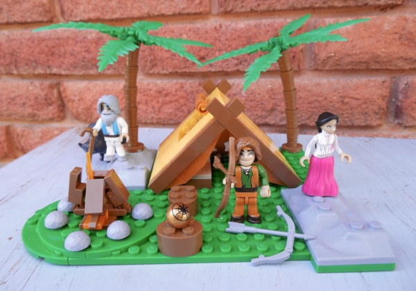 Nephi and the Broken Bow building set