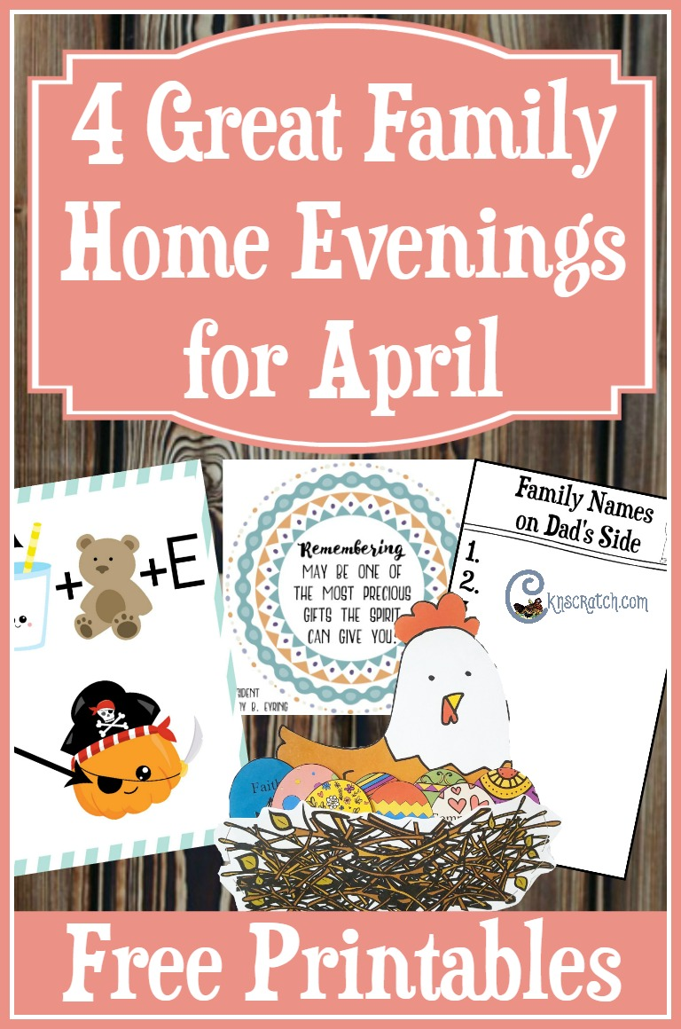 Fun Family Home Evenings for April- love the chicken and eggs! #PRINCEofPEACE