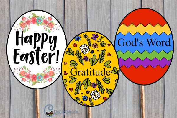 Egg your neighbors with these #PRINCEofPEACE Easter eggs