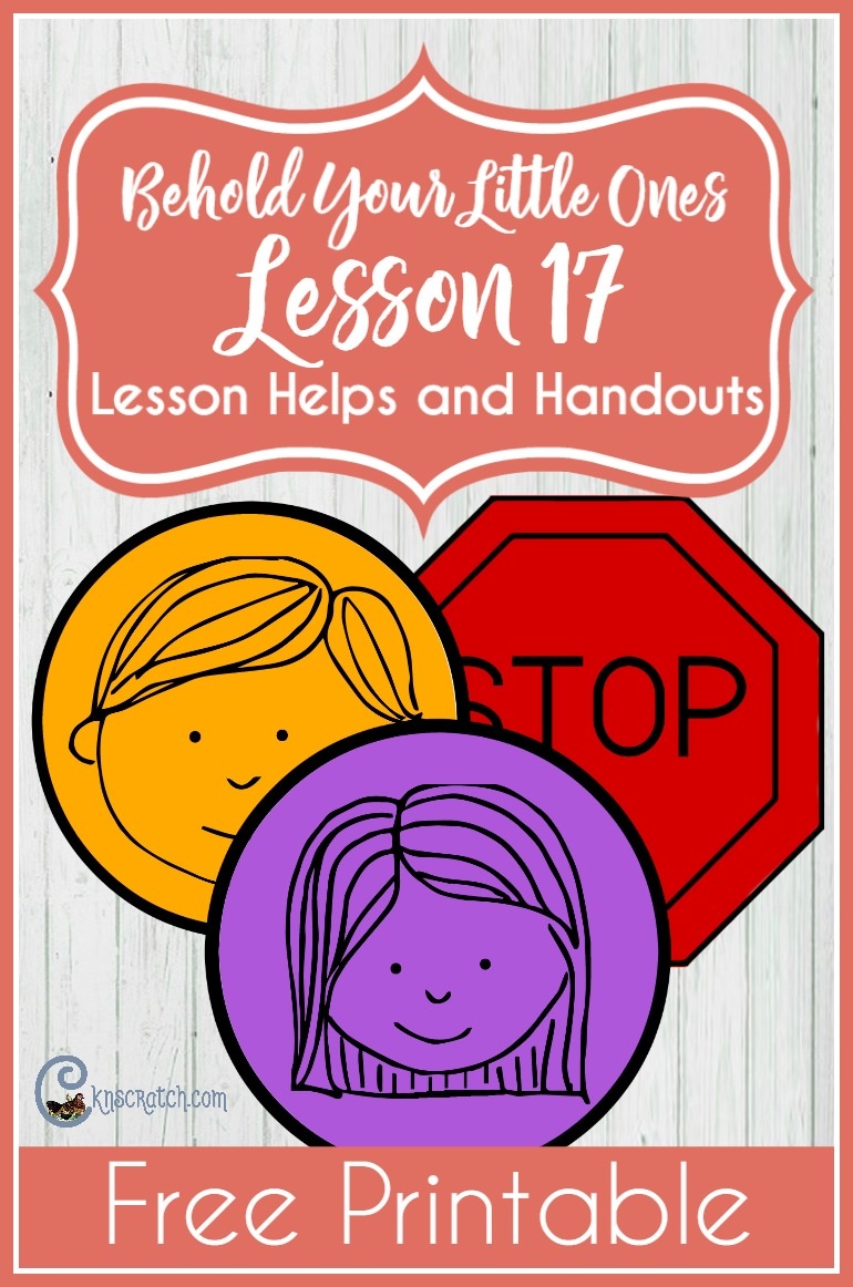 This is a fun idea for LDS Nursery- teaching resources for Behold Your Little Ones Lesson 17: I Will Share