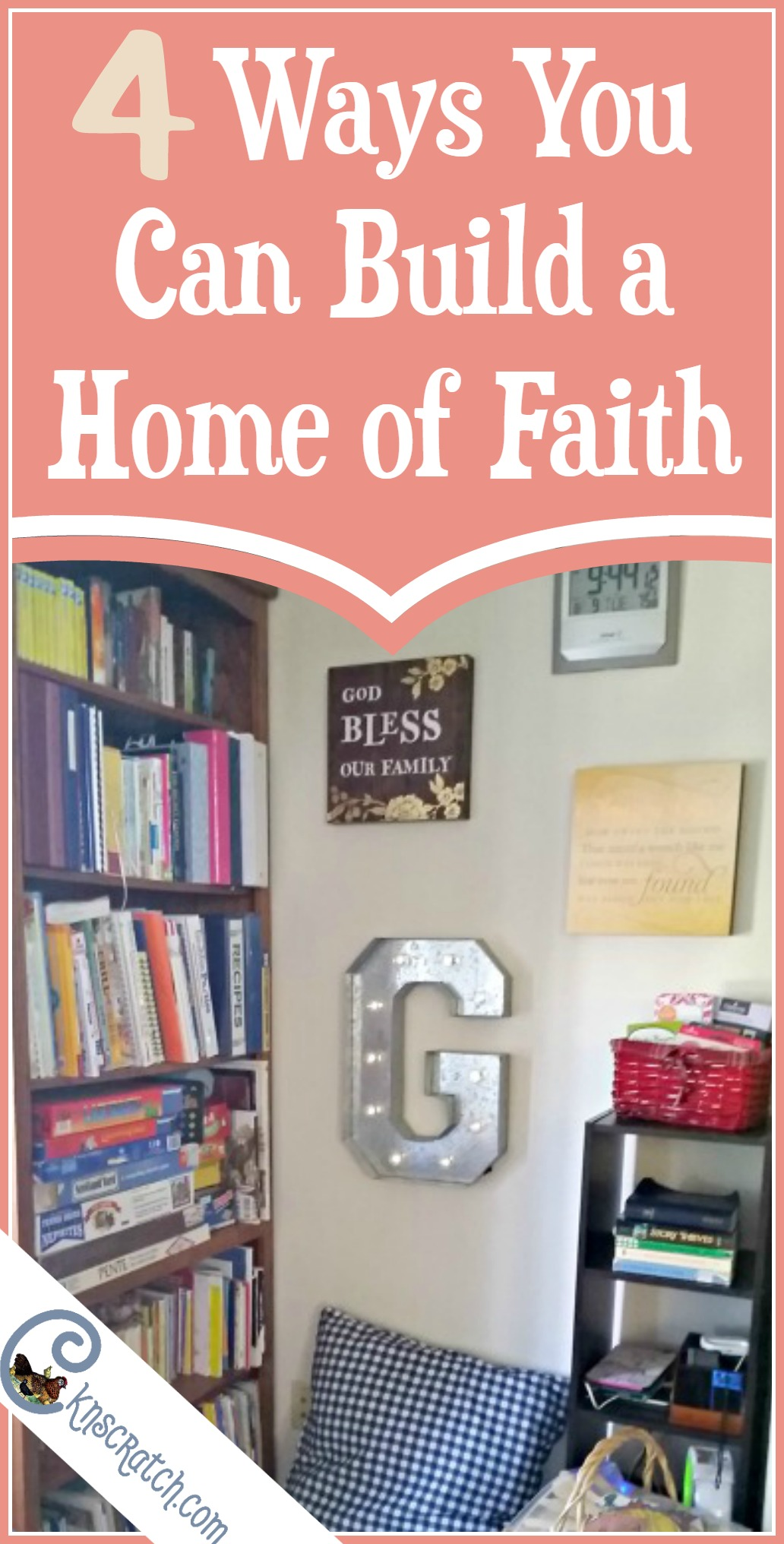 I love the sharing station idea! 4 ways to build a home of faith