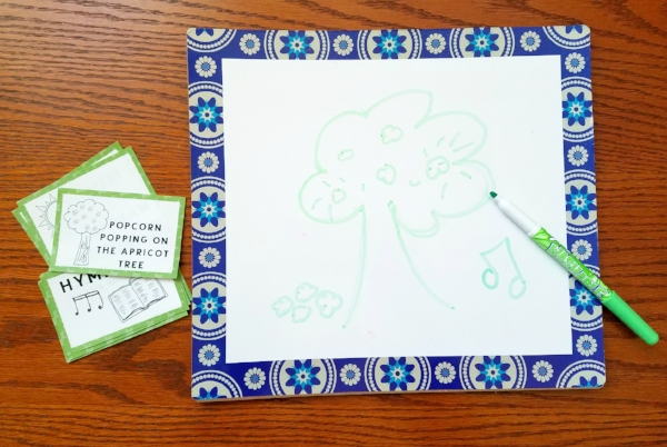 I love playing Pictionary- this LDS version looks fun!