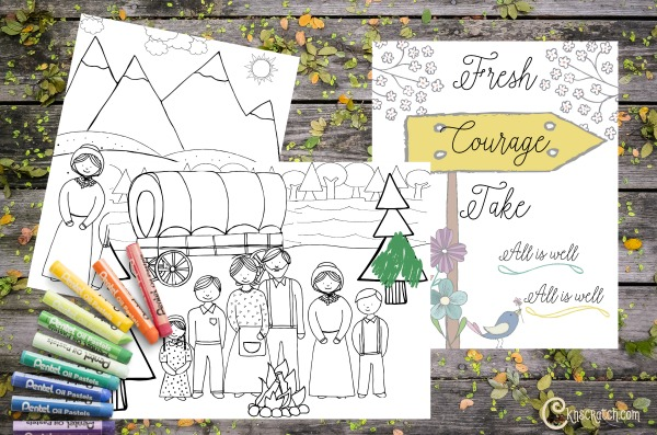 Great free LDS Pioneer Day printables!