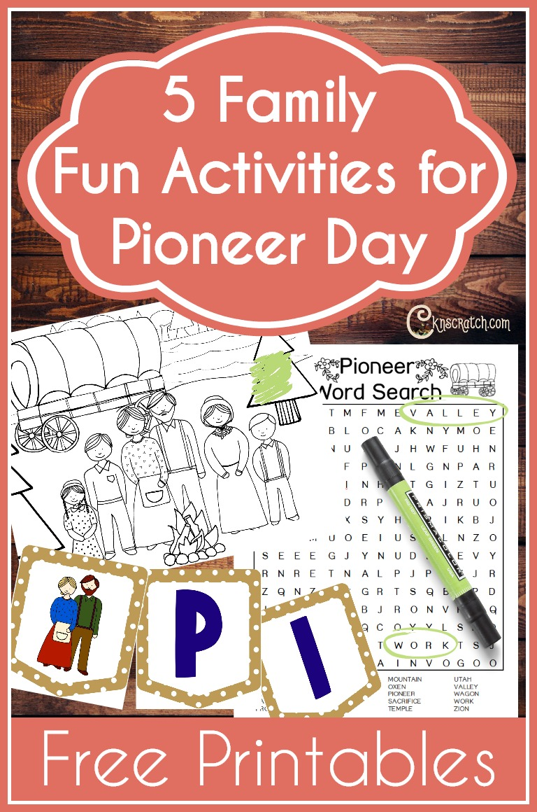 These are fun Pioneer Activities