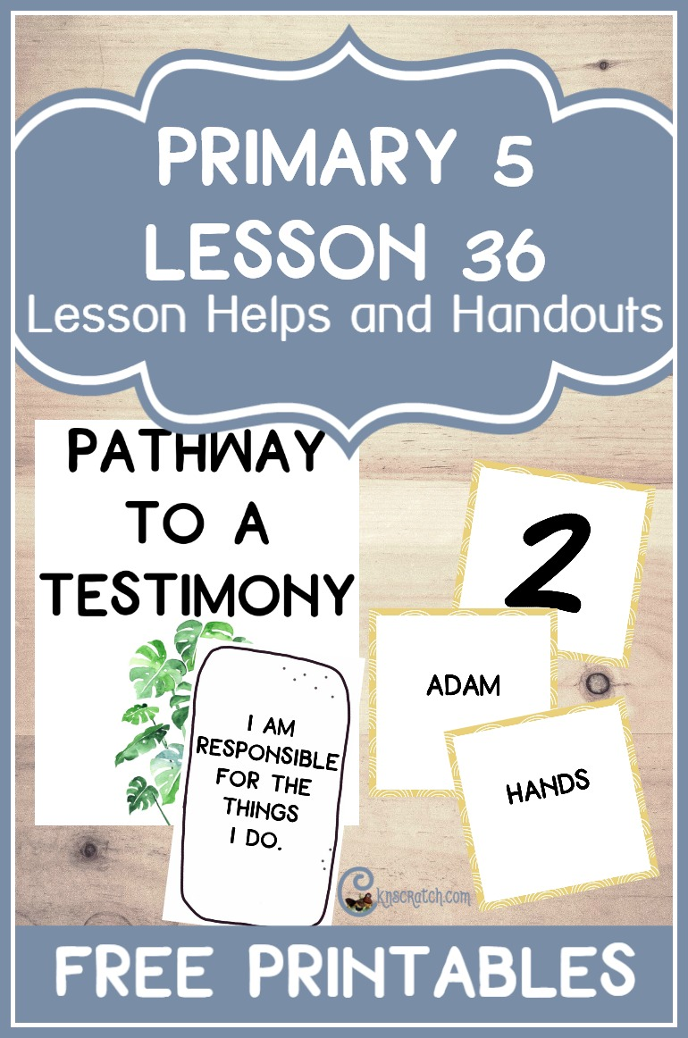 Excellent resource! Free handouts and helps for teaching LDS Primary 5 Lesson 36: Joseph Smith Writes the Articles of Faith