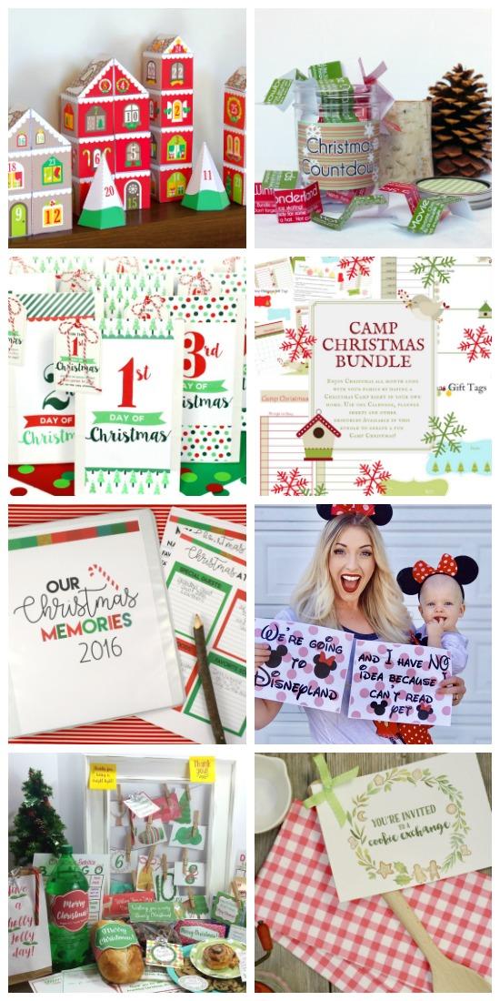 I love these Christmas printables!
