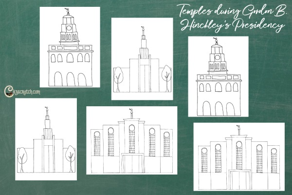 Good visual for teaching Gordon B. Hinckley Chapter 23: The Blessings of the Holy Temple