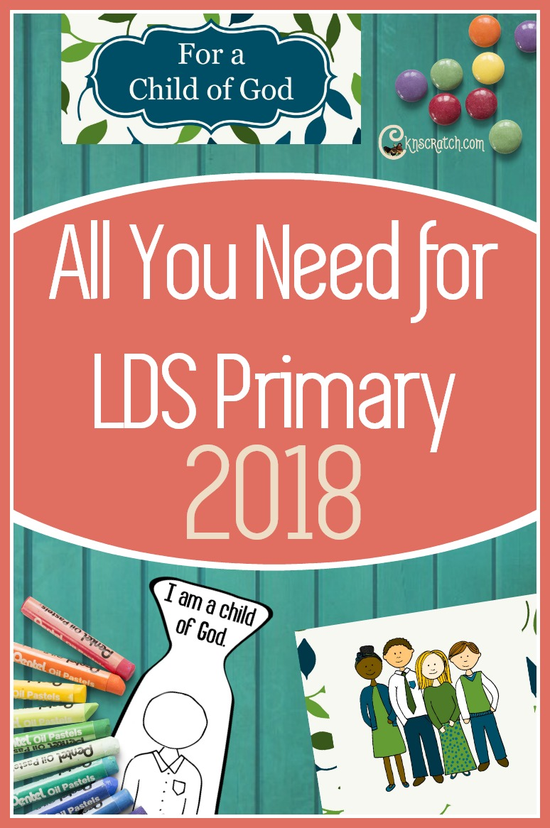 Great resource! All sorts of things to use for 2018 theme in LDS Primary: I am a Child of God #LDS #Mormon #Primary