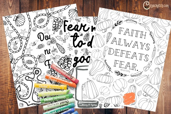 Free faith filled coloring pages