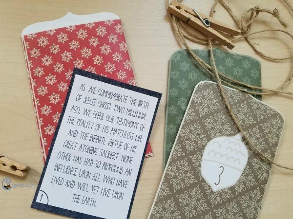Christmas advent for The Living Christ