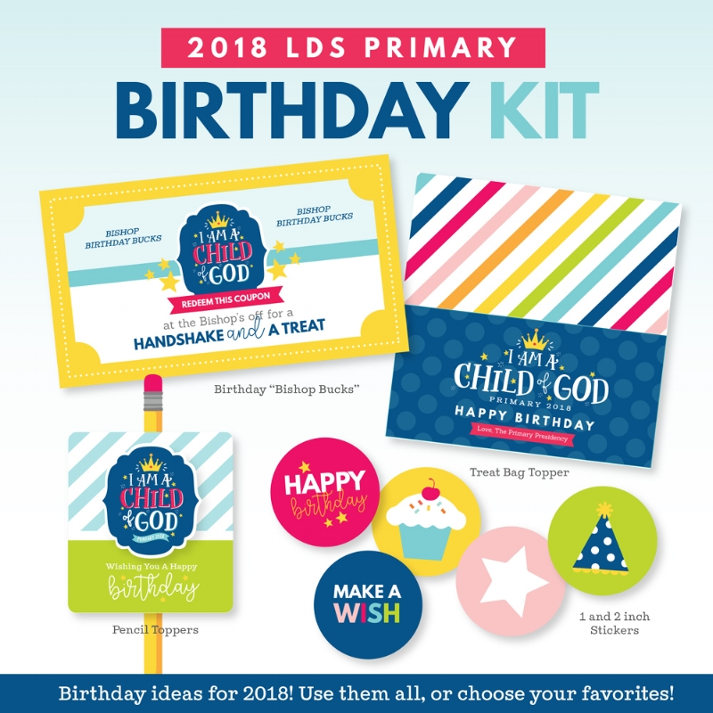 I like all these ideas for LDS primary birthday gifts like the Bishop Bucks and I am Child of God pencil toppers. #LDS