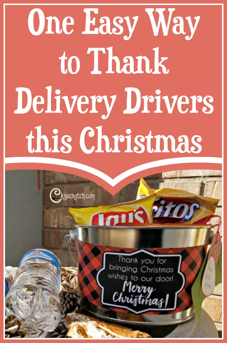 Great and easy way to #LIGHTtheWORLD by thanking delivery drivers and mail carriers
