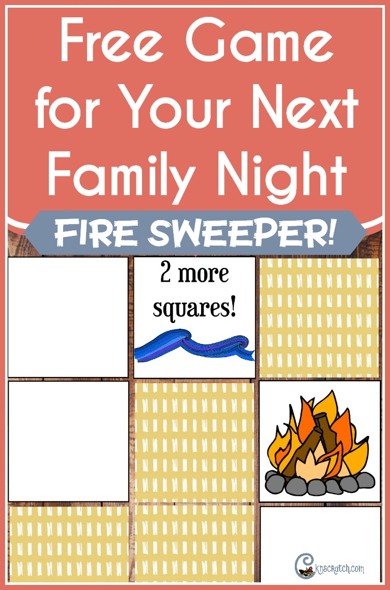 Play this new game- Fire Sweeper! Would be great for FHE or LDS Primary classes!