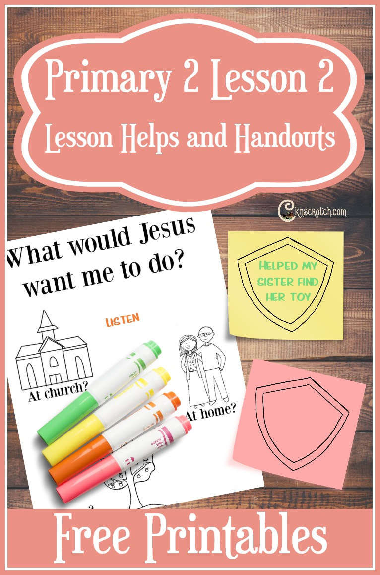 I love the CTR sticky note idea! Great free LDS handouts and helps for teaching Primary 2 Lesson 2: I Can Choose the Right