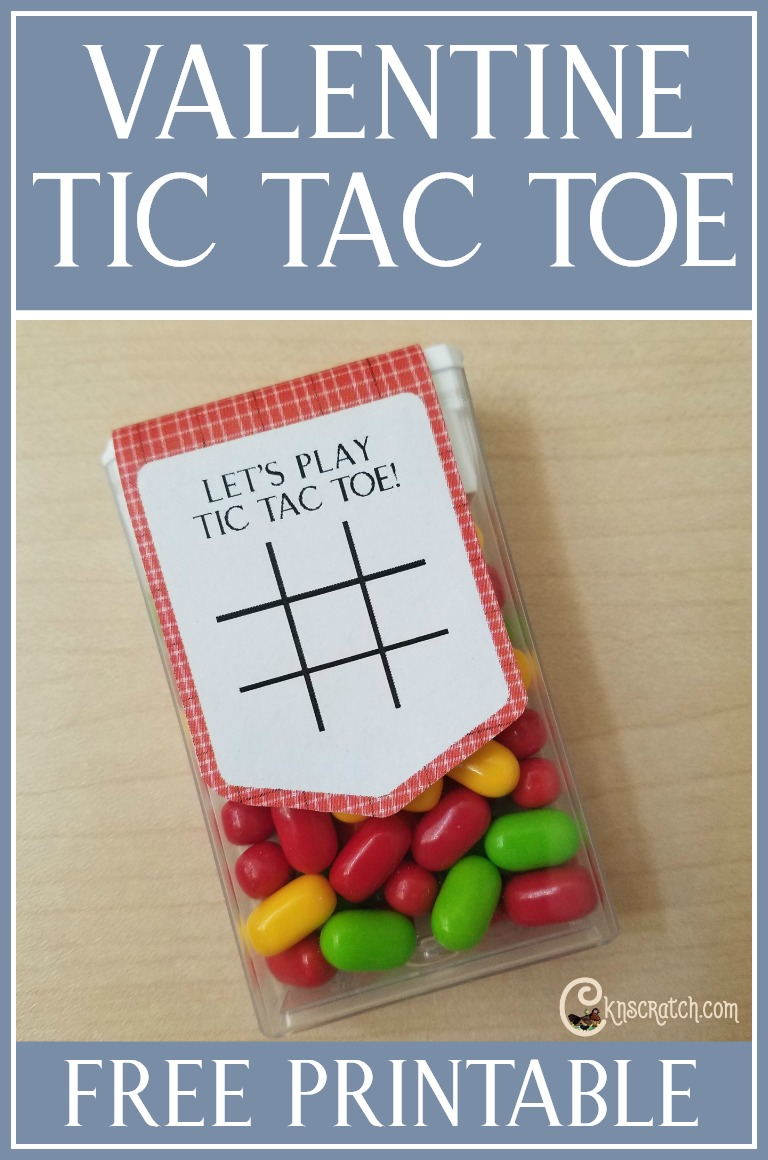 """How cute is this for Valentine's day! """"Tic Tac"""" Toe free printable"""