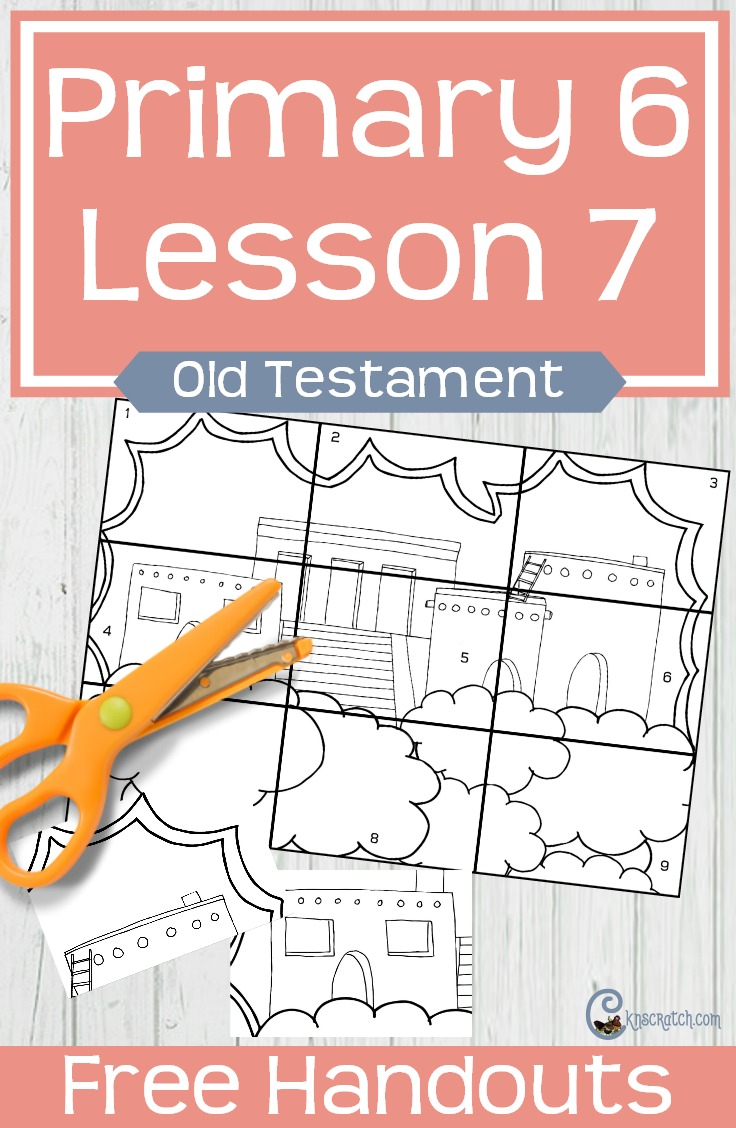 This is a fun idea for teaching about the City of Enoch and Zion, the pure of heart. Free LDS handouts for LDS Primary 6 Lesson 7