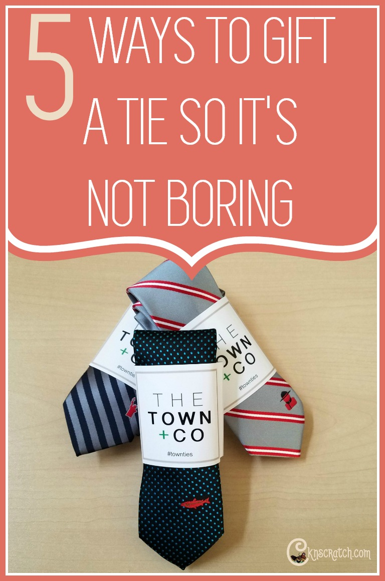 I love these ideas for giving a tie- so much more fun for Father's Day and more! #LDS