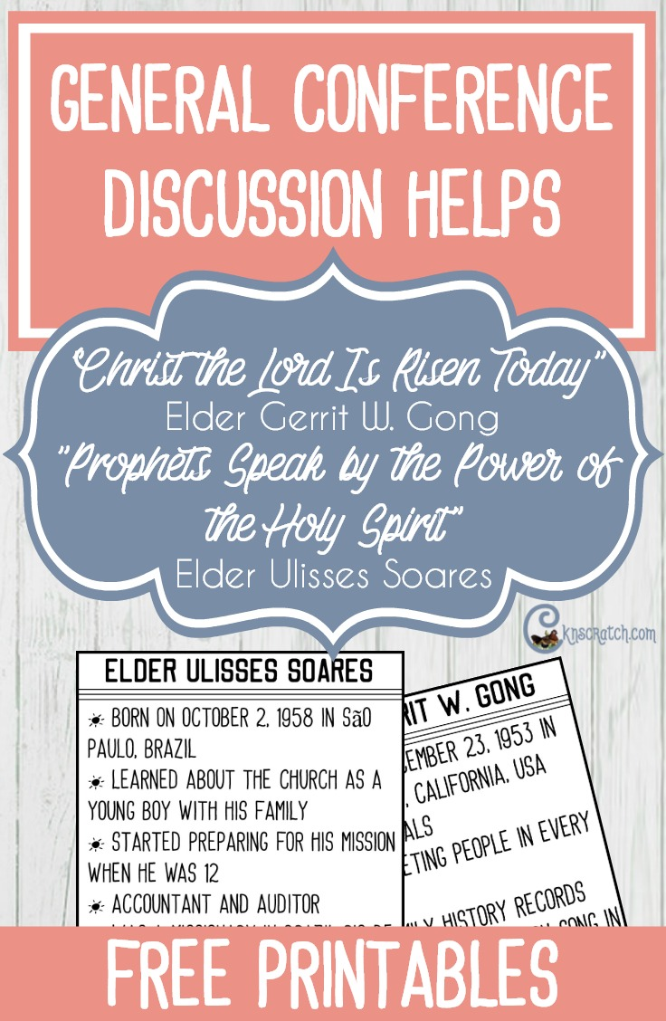 Discussion ideas for General Conference talks from Elder Gong and Elder Soares