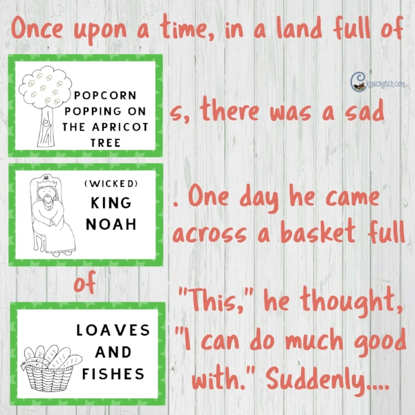 What a great idea! Use these LDS Pictionary cards to make a story game!
