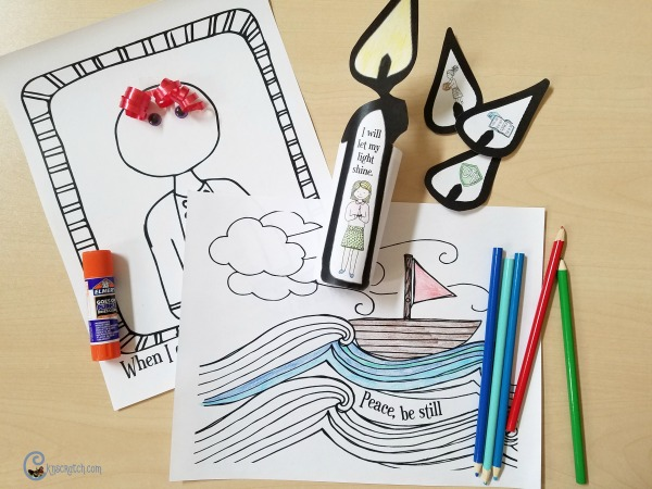 LDS coloring pages plus big resource of emergency LDS lesson helps!
