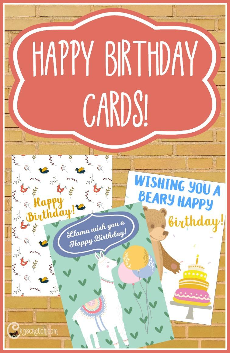 Free Happy Birthday cards- great to send to your class #LDS #mormon #ReliefSociety #LDSprimary #EldersQuorum