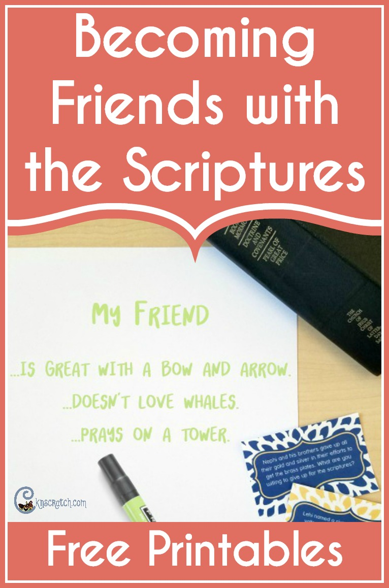 What a fun idea for a game that also encourages the scriptures. #LDS #Mormon #LDSprimary #LDSyouth
