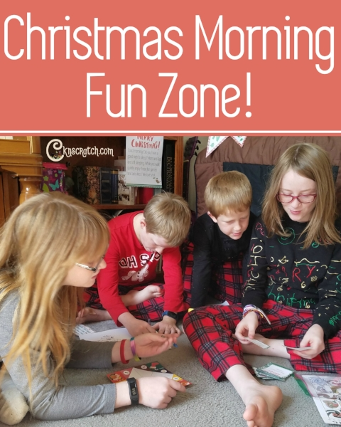 This is such a great idea! Keep the kids happy while you catch a few extra winks Christmas morning.