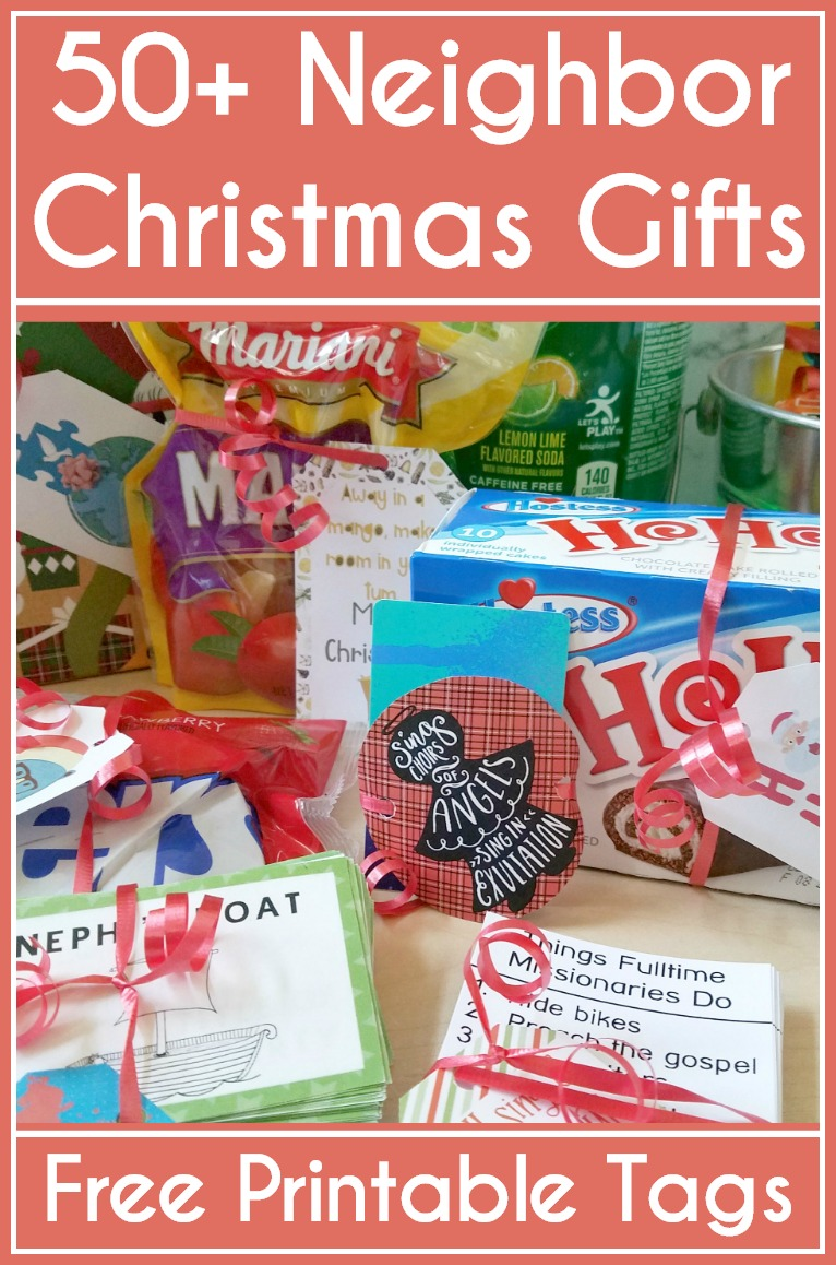 LOVE LOVE LOVE this! 50+ Christmas gift ideas with FREE printable tags. Aaaahhh! So using it. #Christmas #Christmasgifts #gifttags #freeprintable
