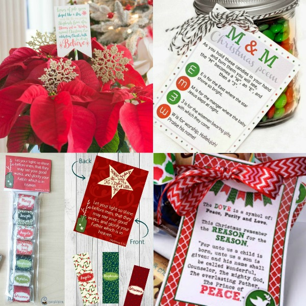 So many great Christmas gift ideas. I really like that she has a TON of free printable tags to go with them! #Christmas #freeprintables #Neighborgifts