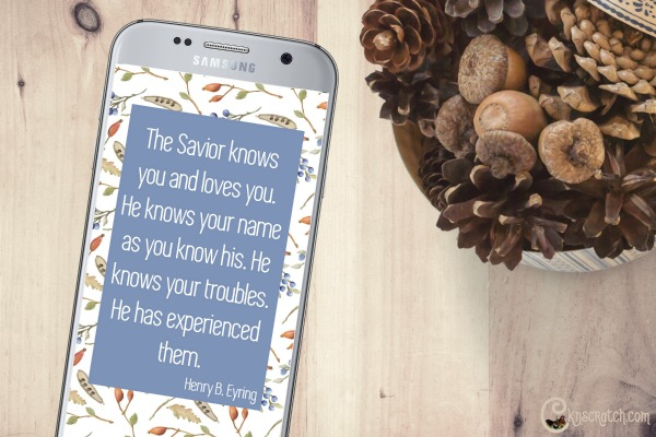 What a great idea- uplifting text images you can send a friend in need. #latterdaysaint #GeneralConference