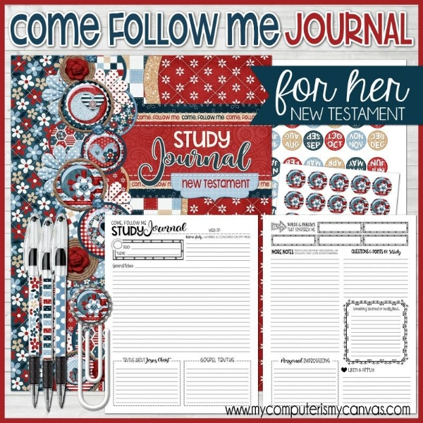 Come Follow Me Journal for Her