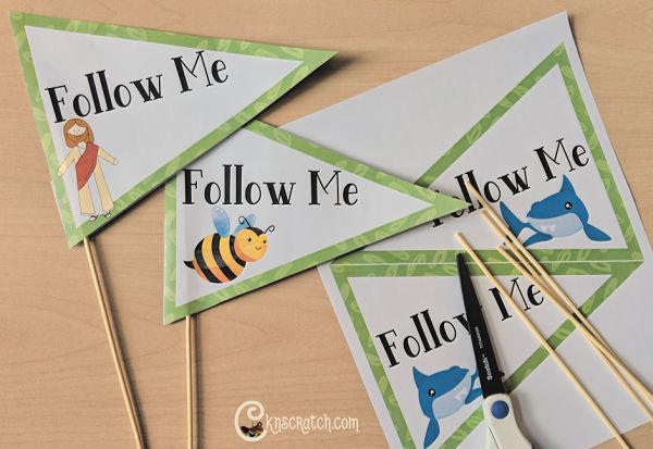 Come, Follow Me flags- love this object lesson #2019ComeFollowMe #LatterdaySaints