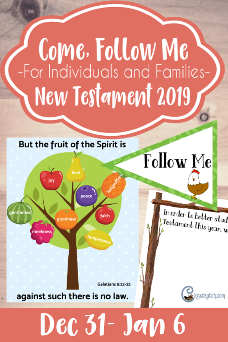 Wow! This site is AMAZING! A ton of FREE printables to help with Come, Follow Me for Individuals and Families #2019ComeFollowMe #LatterDaySaints #LDS