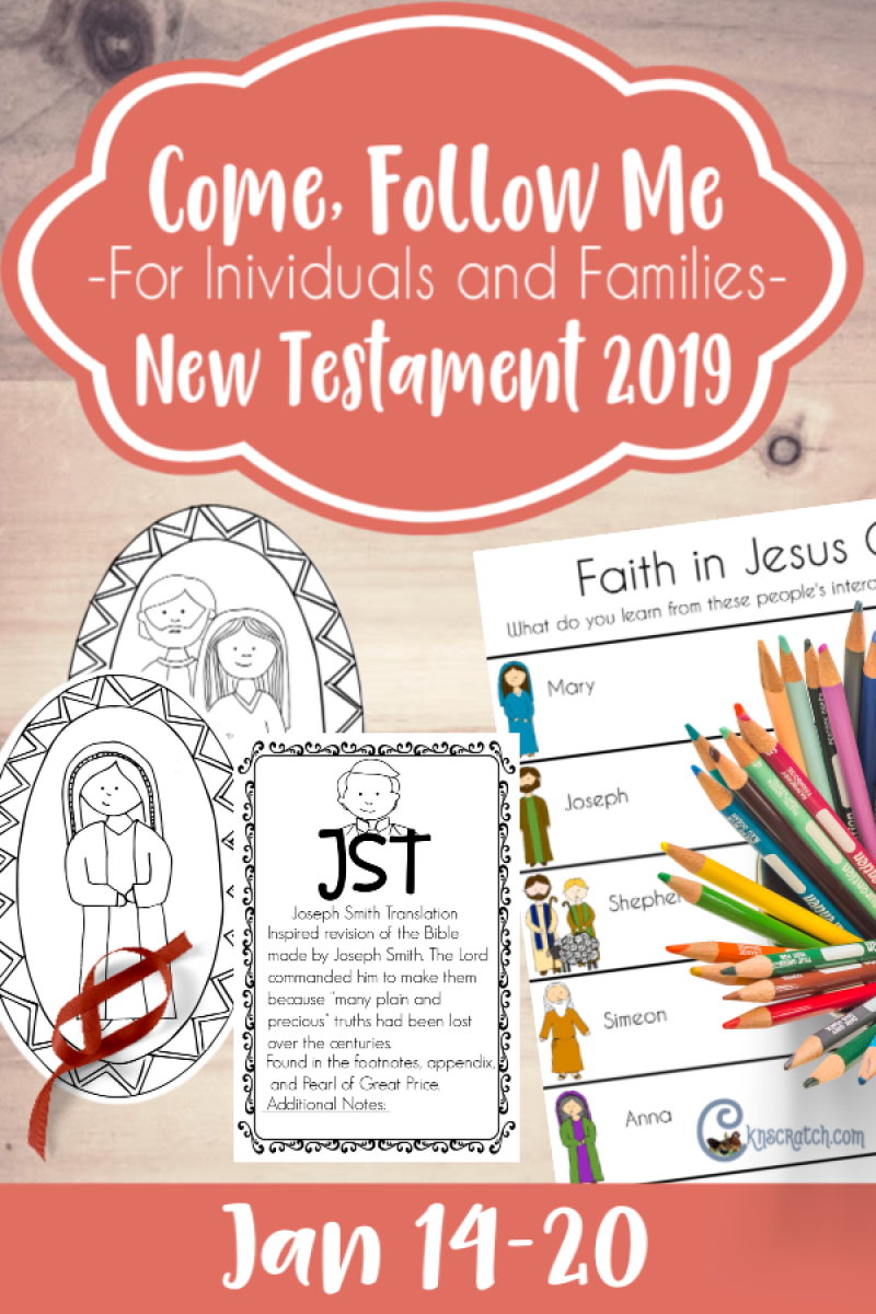 Such a great resource! Free handouts, ideas, and more for Luke 2; Matthew 2 (Come, Follow Me for Individuals and Families) #LatterdaySaint #LDS