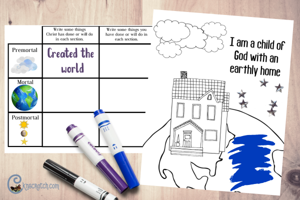 Love these ideas for teaching Primary about John 1 #ComeFollowMe #LDS #teachlikeachicken