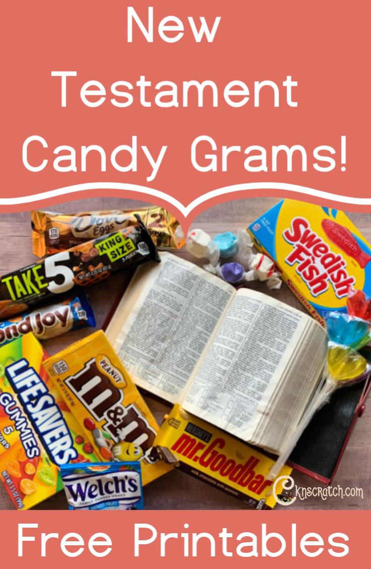 How fun are these! New Testament candy grams! #teachlikeachicken #ComeFollowMe