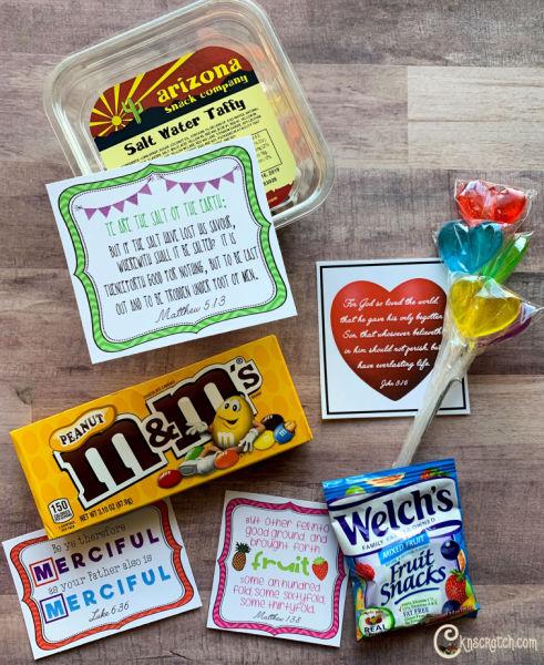 Love these New Testament candy grams! #teachlikeachicken #ComeFollowMe