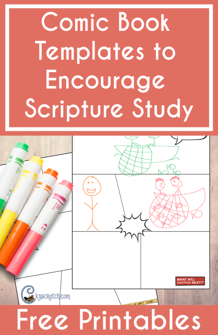 Oh my kids would love these! Summary the stories in the scriptures with these comic book templates #teachlikeachicken #LDS #ComeFollowMe