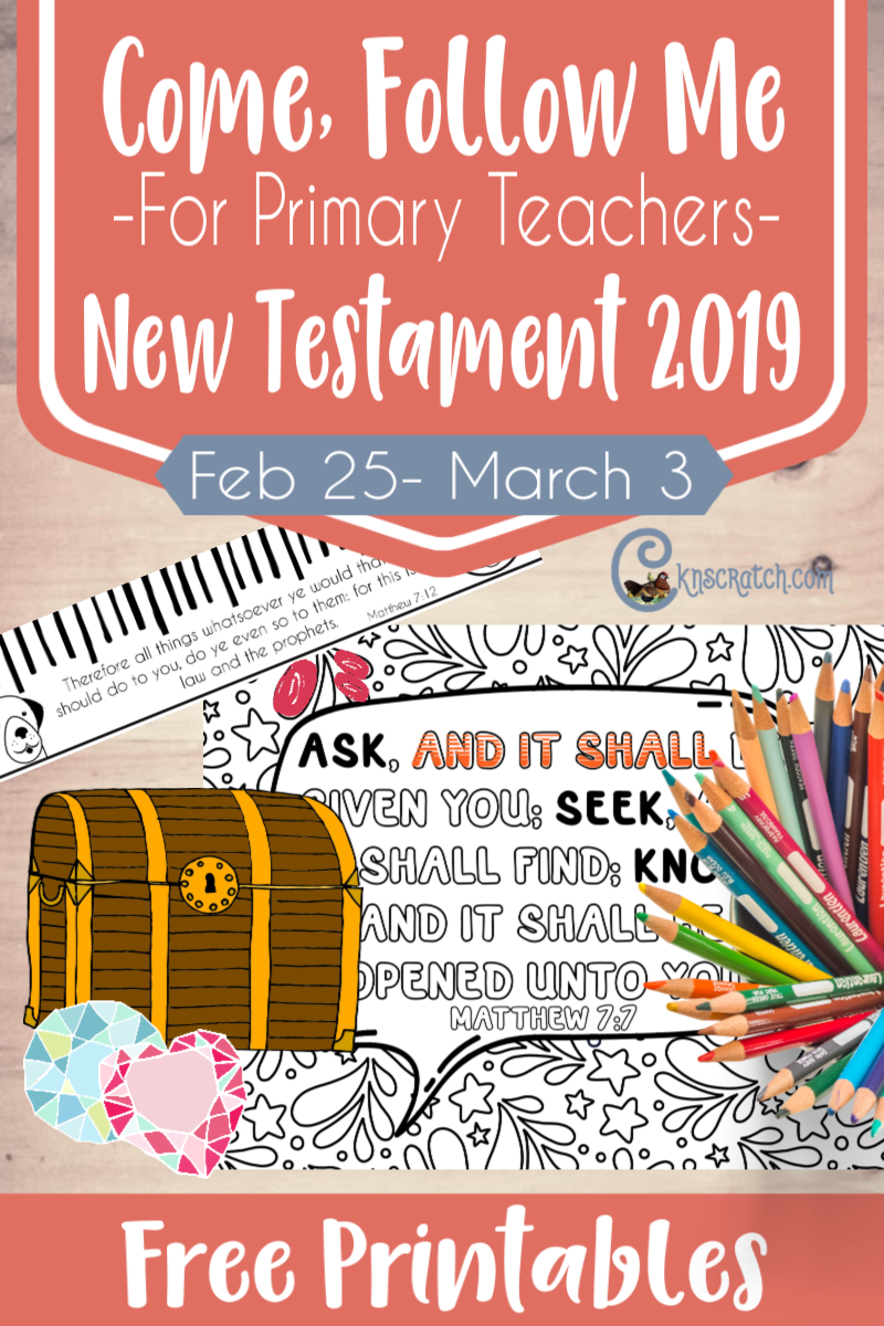 "Such great ideas and I LOVE all the free handouts for teaching Matthew 6-7 (sermon on the mount) ""He Taught Them as One Having Authority"" (Feb 25- March 3) #teachlikeachicken"